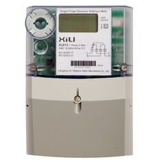PC Plastic Secure Single Phase Energy Meter , kilowatt hour meter with BS / DIN layout